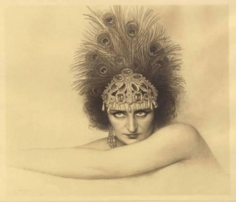 Geneviève Vix als Salomé (Strauss)